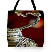 1931 Cadillac 355 A Roadster Hood Ornament Tote Bag