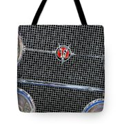 1931 Cadillac Phaeton Grille And Headlights Tote Bag