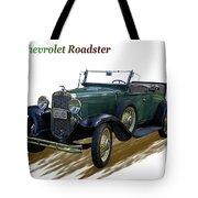 1931 Chevrolet Antique Roadster Tote Bag