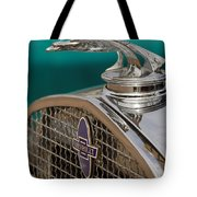 1931 Chevrolet Hood Ornament Tote Bag