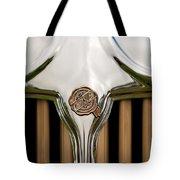 1931 Chrysler Coupe Grille Emblem Tote Bag
