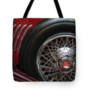 1931 Duesenberg Model J Spare Tire Tote Bag