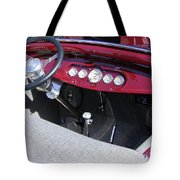 1931 Ford Dashboard Tote Bag