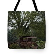 1931 Ford Model A Final Resting Place Tote Bag