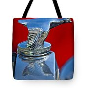 1931 Ford Model A Quail Hood Ornament Tote Bag