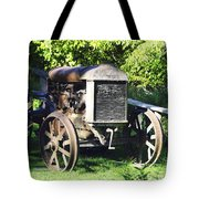 1931 Fordson Tractor Tote Bag