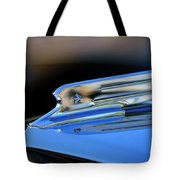 1931 Marmon Sixteen Coupe Hood Ornament 2 Tote Bag by Jill Reger