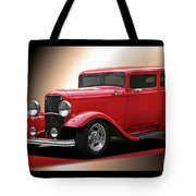 1932 Ford 'cherry Bomb' Sedan Tote Bag