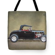 1932 Ford Convertible Street Rod Tote Bag