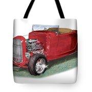 1932 Ford Hi-boy Hot Rod Tote Bag