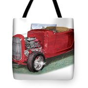 1932 Ford Hi-boy Hot Rod Tote Bag