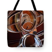 1932 Ford Hot Rod Speedometer Tote Bag