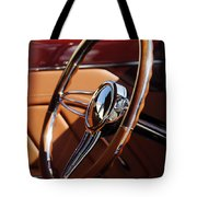 1932 Ford Hot Rod Steering Wheel 2 Tote Bag