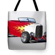1932 Ford 'hot Stuff' Roadster Tote Bag
