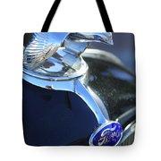 1932 Ford Quail Hood Ornament Tote Bag