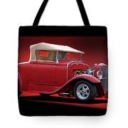 1932 Ford 'rag Top' Roadster Tote Bag