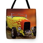 1932 Ford 'sunset' Studio' Roadster Tote Bag