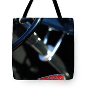 1932 Hot Rod Lincoln V12 Gear Shifter Tote Bag