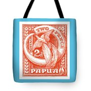 1932 Papua New Guinea Bird Of Paradise Postage Stamp Tote Bag