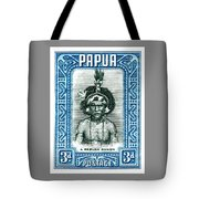 1932 Papua New Guinea Native Dandy Postage Stamp Tote Bag