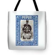 1932 Papuan Dandy Stamp Tote Bag