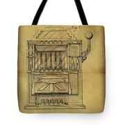 1932 Slot Machine Patent Tote Bag
