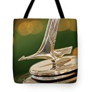 1932 Studebaker Dictator Custom Coupe Hood Ornament Tote Bag