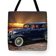 1933 Chevrolet 4 Door Eagle Sedan Tote Bag