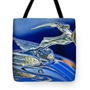 1933 Chrysler Imperial Hood Ornament Tote Bag
