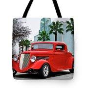 1933 Ford 'three Window' Coupe II Tote Bag
