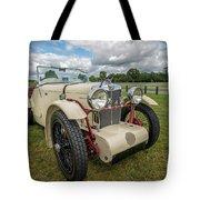 1933 Mg Sports Car Tote Bag