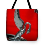 1933 Packard Goose  Hood Ornament Tote Bag