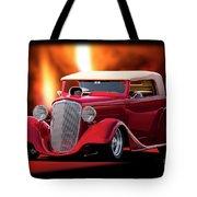 1934 Chevrolet Phaeton Convertible Tote Bag