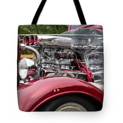 1934 Chevy Truck Motor Tote Bag
