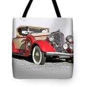 1934 Chrysler Roadster Tote Bag