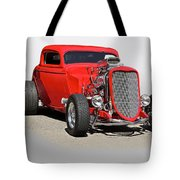 1934 Ford 'mean And Nasty' Coupe Tote Bag