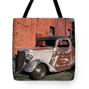 1934 Ford 'patina Plus' Coupe Tote Bag