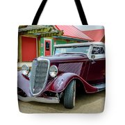 1934 Ford Roadster Hot Rod Tote Bag