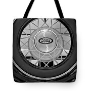 1934 Ford Roadster Spare Tire 2 Tote Bag
