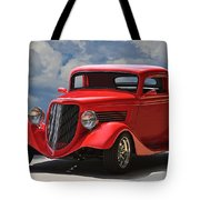 1934 Ford 'sherrys Cherry' Coupe Tote Bag