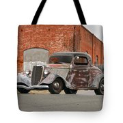 1934 Ford 'survivor' Coupe Tote Bag