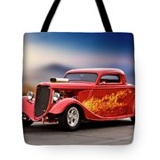 1934 Ford 'three Window' Coupe I Tote Bag