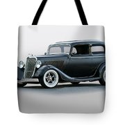 1934 Ford 'victoria' Coupe Tote Bag