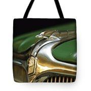 1934 Nash Ambassador 8 Hood Ornament Tote Bag