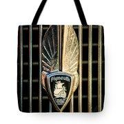1934 Plymouth Emblem Tote Bag