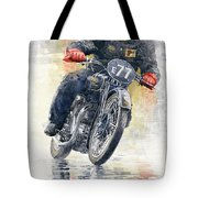 1934 Rudge Ulster Grand Prix Model  Tote Bag
