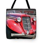 1935 Auburn Speedster 6870 Tote Bag