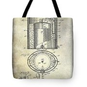 1935 Beer Equipment Patent  Tote Bag
