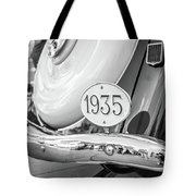 1935 Black And White Tote Bag by Gary Gillette