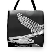 1935 Chevrolet Hood Ornament 4 Tote Bag